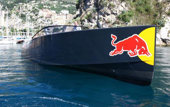 yacht vandutch redbull event