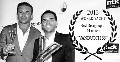 VanDutch Wolrd yachts Trophies