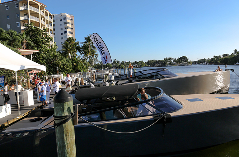 vandutch yacht miami boat show